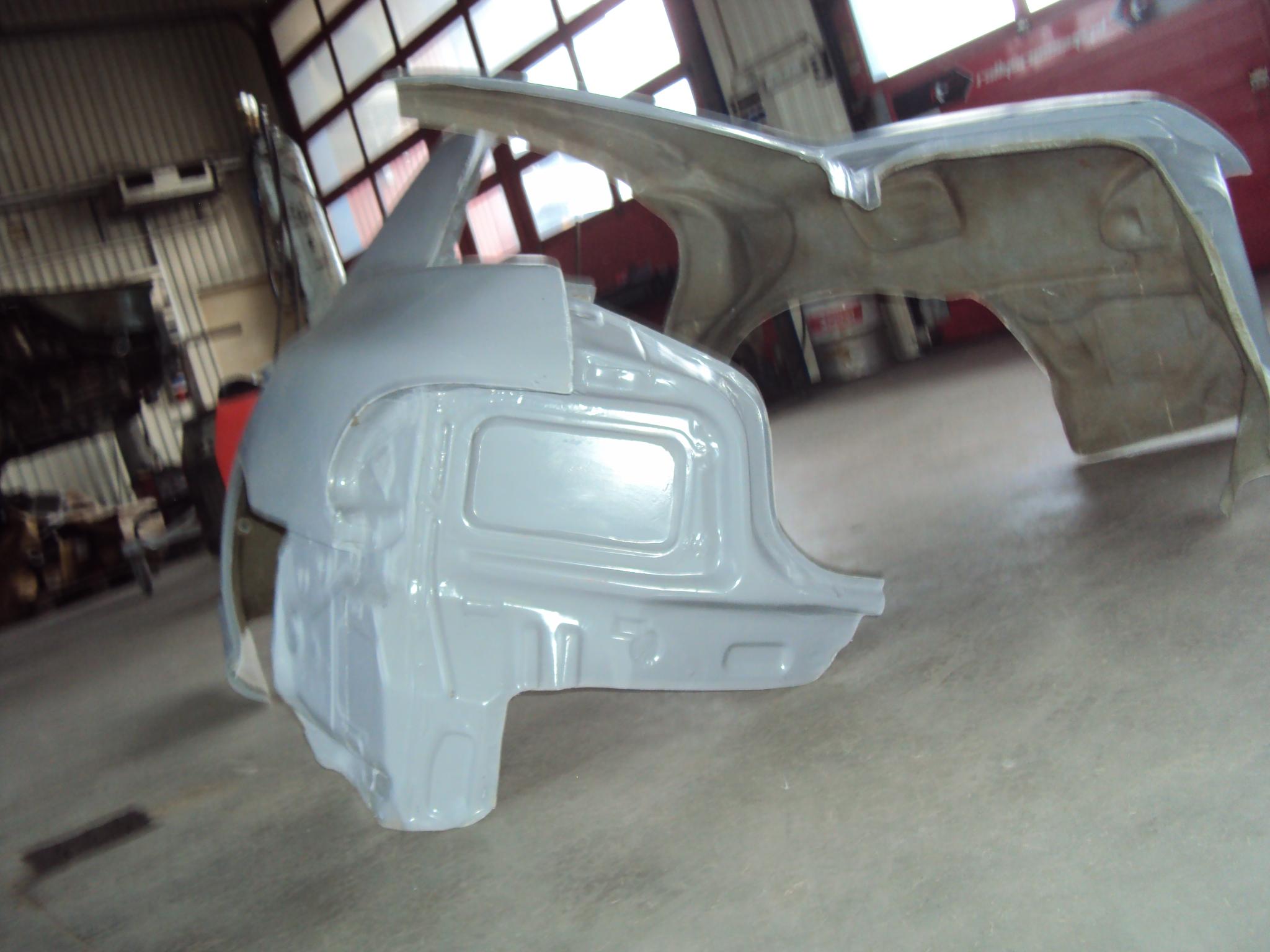 Lekkie błotniki Subaru Impreza GT
